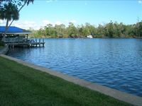 Condo on Homosassa River with Covered Boat Slip .