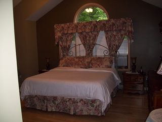 Lake Ariel house photo - Master Bedroom Suite ~ With Mood Lighting