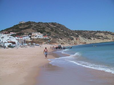 Salema beach looking west