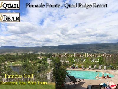 Pinnacle Pointe Quail Ridge Golf Resort Swimming Pool, Hot Tub & Gym