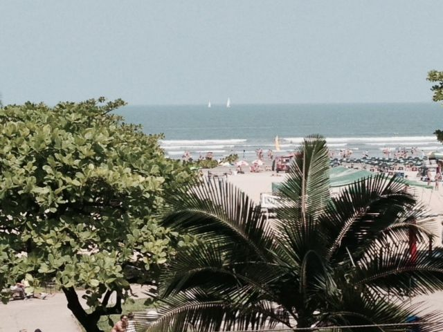 In the best place of Santos in front of the beach - Apartment 1 Bedrooms very comfortable.