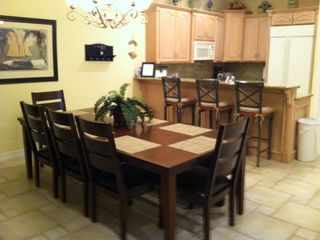 South Padre Island house photo - dining room seating for 12