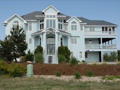 Front Elevation - Pine Island, North Carolina Vacation Rental