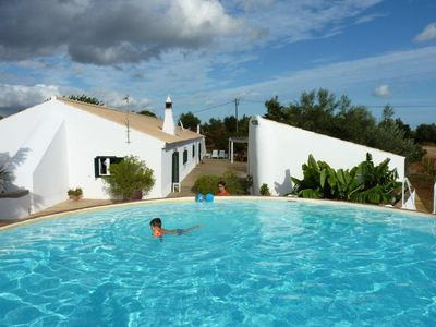 House 8 people + pool- 10 minutes Tavira and Plages- From 450 € to 950 € / week