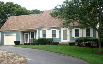 South Yarmouth house rental - A private and quiet setting.