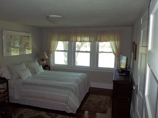 East Norwalk house photo - Master Bedroom Overlooking Water - Has Walk-in Closet