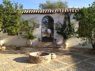 Typical Andalusian charming hacienda in the heart of a 9 acre garden