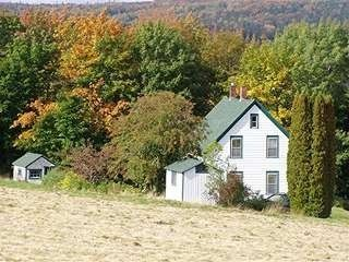 Baddeck house photo - Autumn View of Green Gables and Surrounding Property