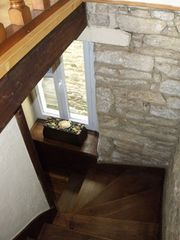 Pont-Aven cottage photo - Staircase–3 story house (US)