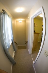 Upstairs Hallway and Bedroom #2 on Second Floor