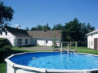 Quebec City farmhouse photo - Outdoor pool above ground on the 2 acres