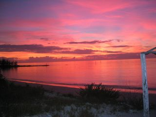 Outstanding Sunsets from the Tiki Hut. - Cat Island house vacation rental photo