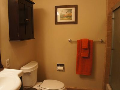 Kaanapali condo rental - Main bathroom with a shower/bathtub