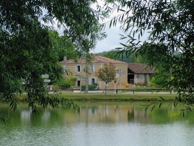 Restored cottage: Lovely setting in rural Gascony.