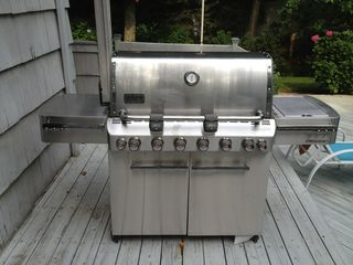 Riverhead house photo - Grill
