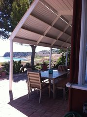 Rancho Palos Verde house photo - Enjoy breakfast, lunch or dinner outside on the patio and admire the view!