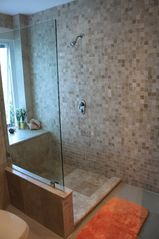 Isla Mujeres condo photo - Master bath walk-in-shower
