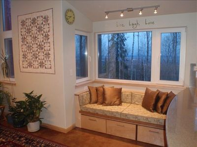 Twin Size Window Seat/ Bed