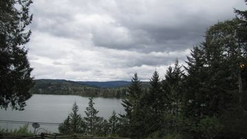 Eugene house rental - Even on a cloudy day, the view is amazing!