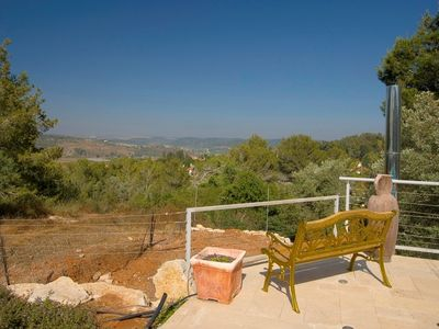 Zichron Yaakov apartment rental - Solitude against the hill view