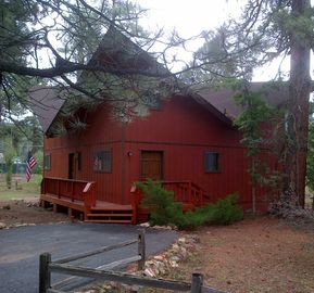 Munds Park cabin rental - Tall Pines Cabin on Lake O'Dell