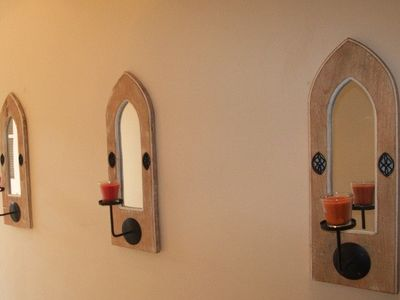 Entrance Hall Candle Holders