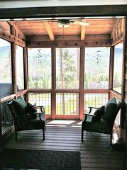 Georgetown Lake house photo - Screened porch is a great spot for late-night cocktails.