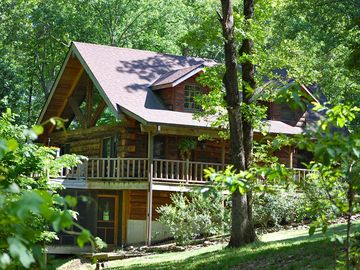 Branson cabin rental - Welcome to the Refuge! www*tallpinesbranson*com