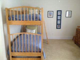 bunks with trundle too - sleeps 3