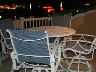 Seaside Heights condo photo - Top Deck at night looking at Boardwalk