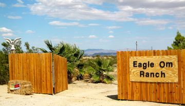 Joshua Tree house rental - Eagle Om Ranch