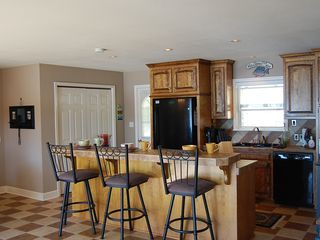 Sunrise Beach house photo - Large kitchen area with everything you need