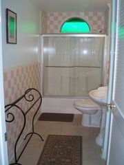 Folly Beach house photo - Flamingo Suite's Bath