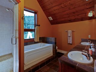 Telluride house photo - Master Bath with Steam Shower and Jetted Tub!