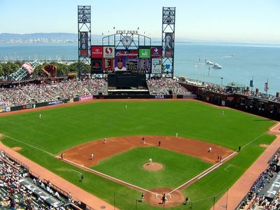 AT&T Park is just a few minutes away