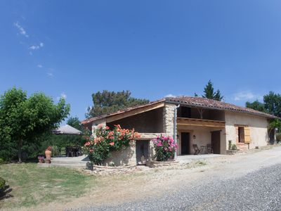 house in the countryside on the slopes of Moissac 82, with wildlife park