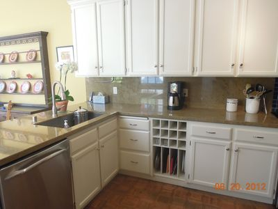 Updated kitchen with connected family & breakfast room