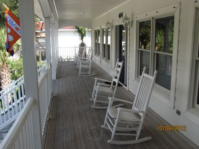 Spacious Rocking chair Front porch
