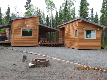 Sterling cabin rental - Nestled in a Birch Forest near Bings Landing and Dot's Fish Camp.