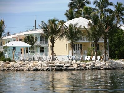 Islamorada townhome rental - From the Bay Looking In