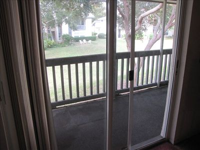 Screened in porch, park like view - outstanding and relaxing.