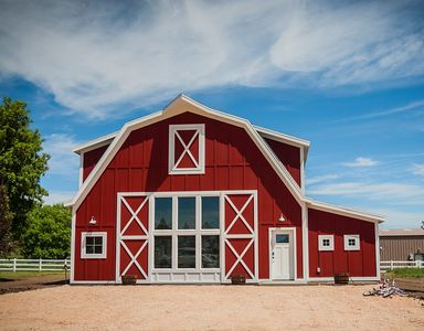 Newly Built Country Barn in Garden City, Utah.