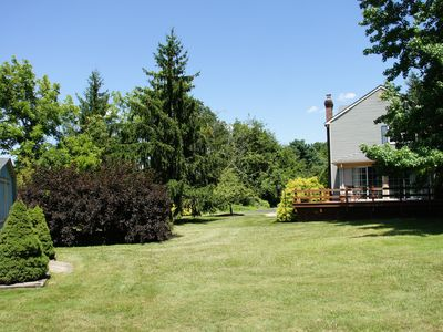 Peaceful Getaway in New Hope on 12+ Acres. Perfect for wedding stays!