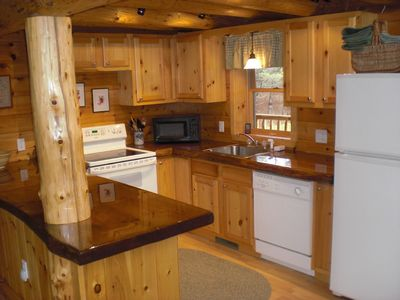 Twin Mountain house rental - Fully equipped kitchen