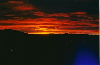 Bandera cabin photo - Incredible Sunsets