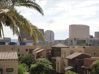 View from rooftop patio. - Phoenix townhome vacation rental photo