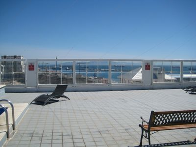 Gibraltar apartment rental - Rooftop sunbathing area
