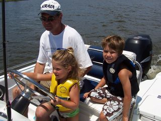 Gulf Shores condo photo - Fishing with grandchildren