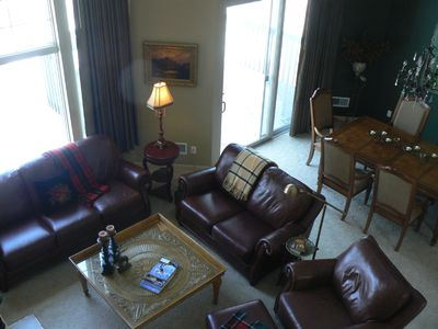 Bellaire / Shanty Creek condo rental - Living room