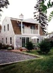 Provincetown condo rental - Yard with deck & upper balcony.